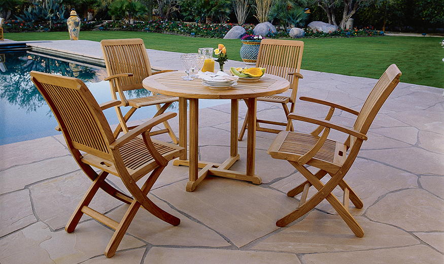 Monterey folding chairs