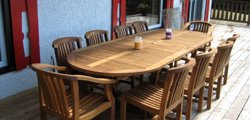 Glenora table and Charles chairs